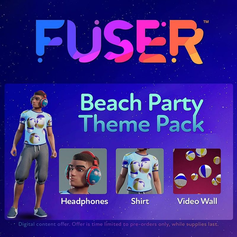Fuser - Beach Party Theme Pack