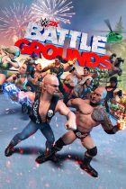 WWE 2K Battlegrounds Cover Art