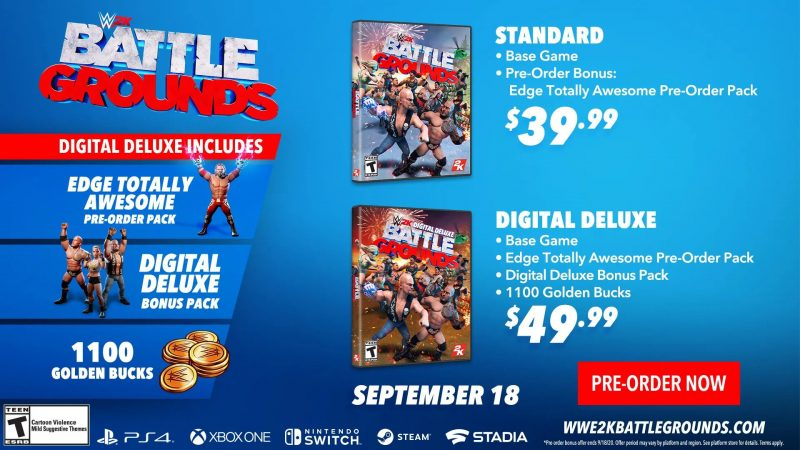 WWE 2K Battlegrounds - Digital Deluxe Edition