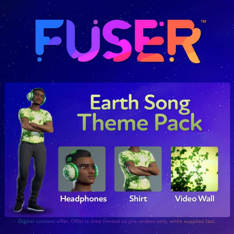 Fuser - Earth Song Theme Pack