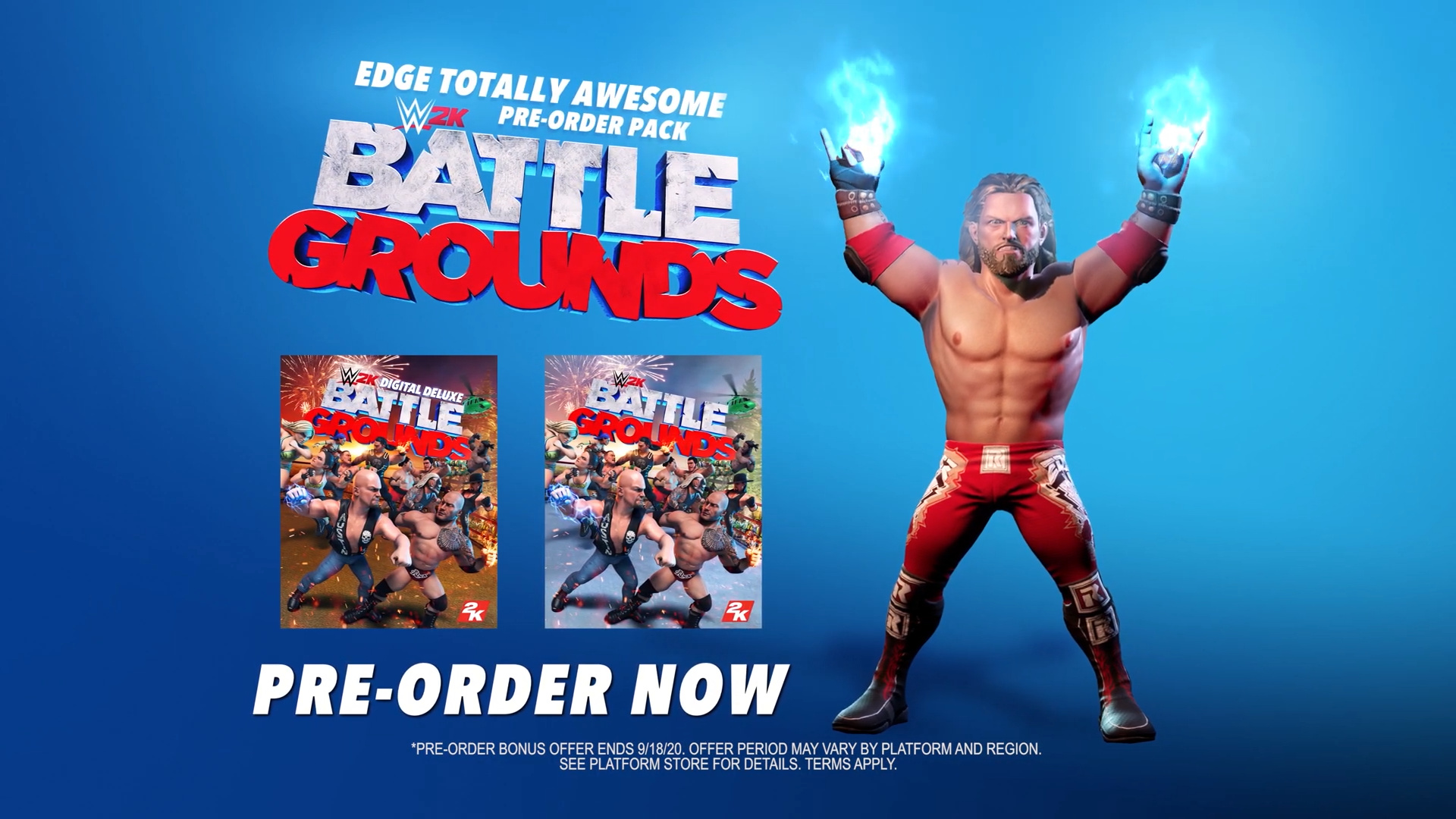 WWE 2K Battlegrounds - Edge Totally Awesome Pre-Order Pack