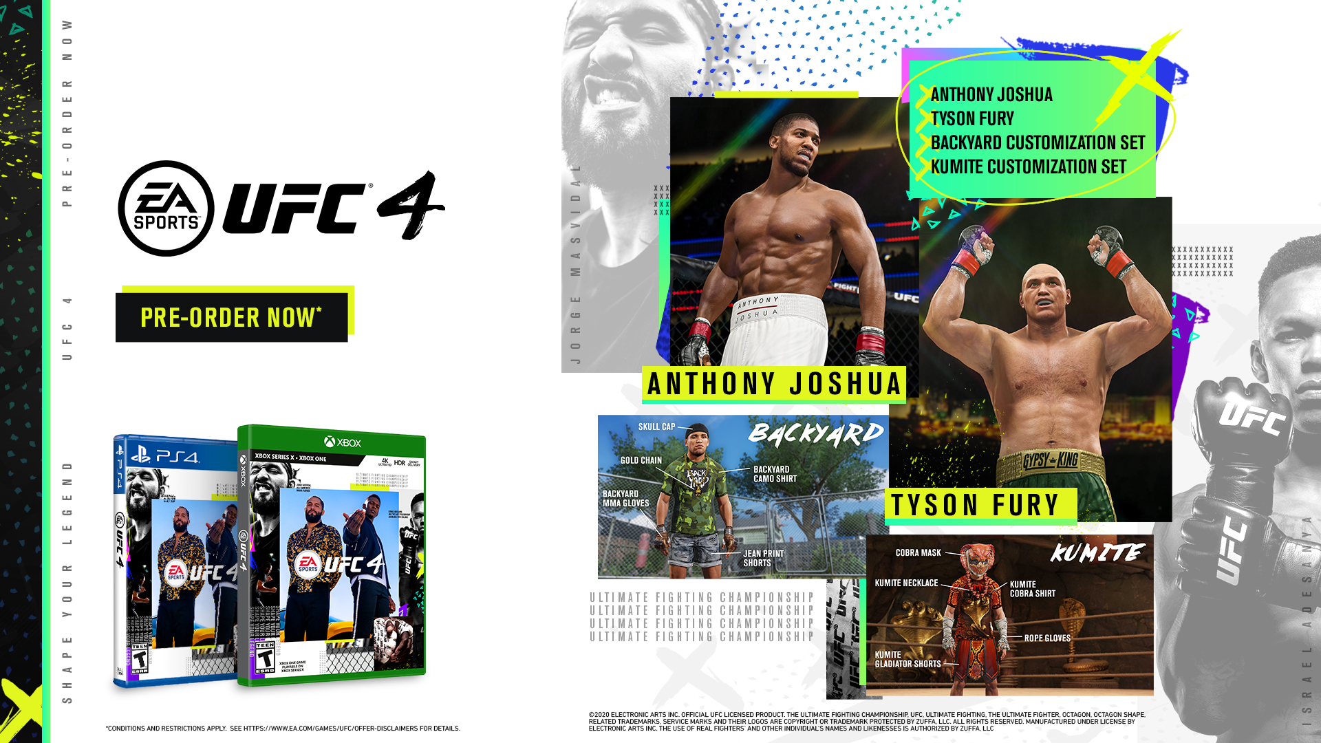 Ea Sports Ufc 4 Game Preorders