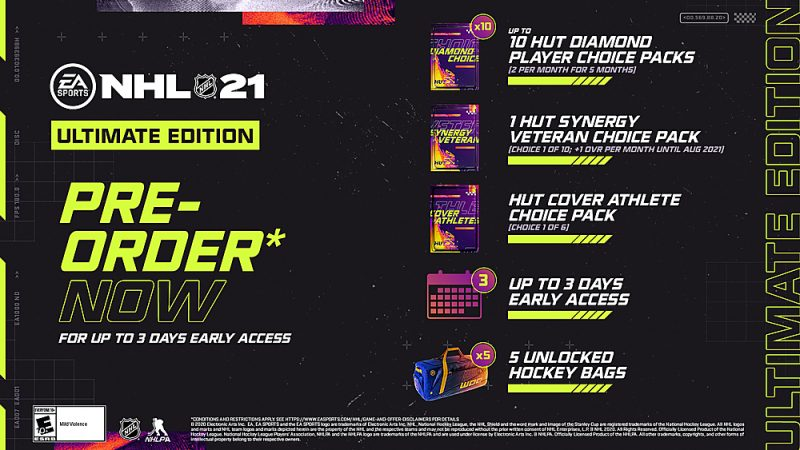 NHL 21 - Ultimate Edition