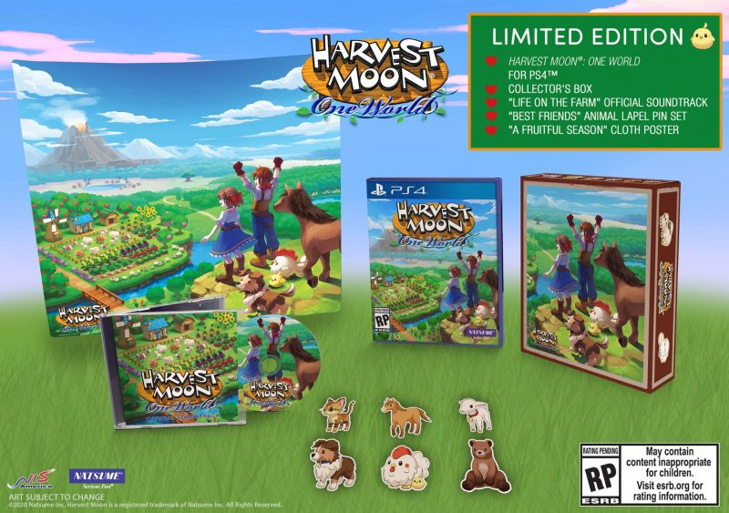 Harvest Moon: One World - Limited Edition