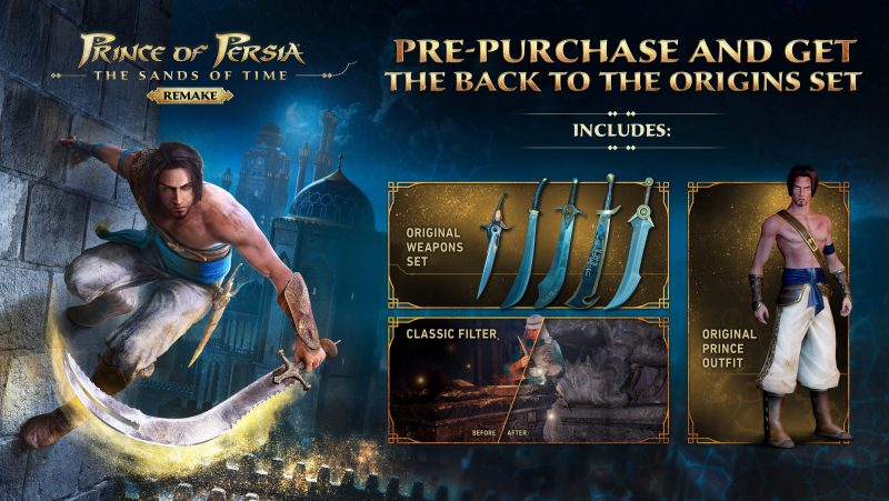 Prince of Persia: The Sands of Time Remake - Back to the Origins Pack