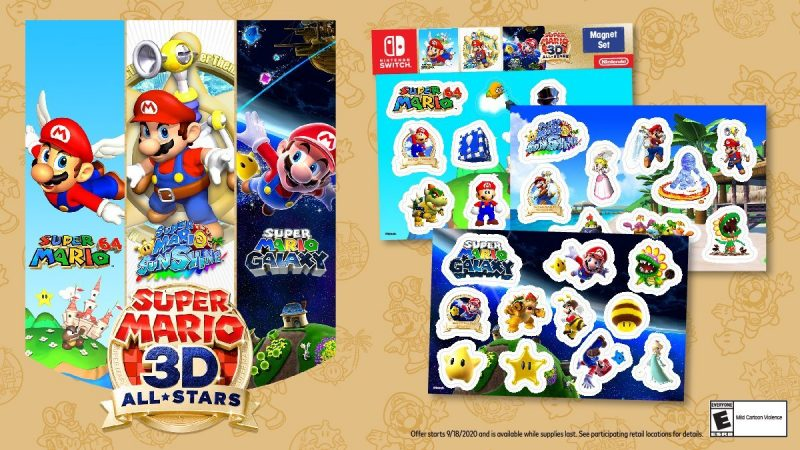 Super Mario 3D All-Stars - Magnet Set