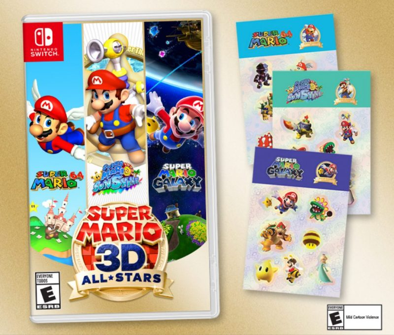 Super Mario 3D All-Stars - Sticker Set