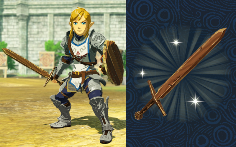 Hyrule Warriors: Age of Calamity - Training Sword