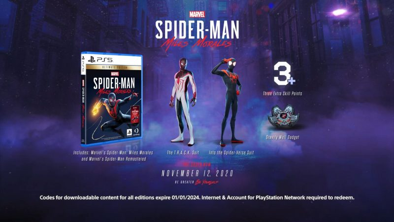 Marvel's Spider-Man: Miles Morales - Ultimate Launch Edition