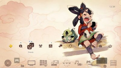 Sakuna: Of Rice and Ruin - PS4 Pre-Order Theme