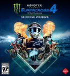 Monster Energy Supercross 4 Box Art