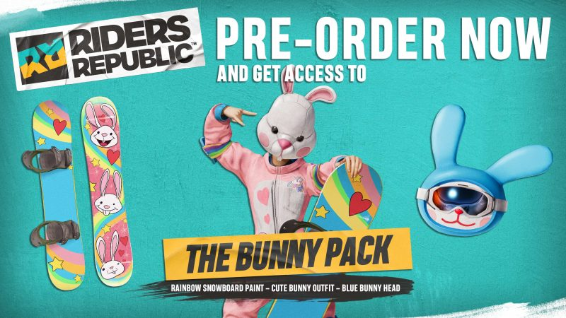 Riders Republic - The Bunny Pack