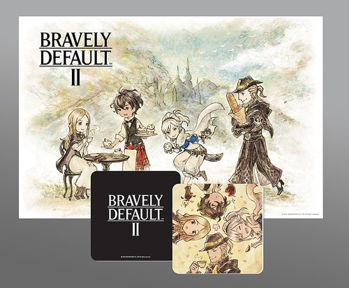 Bravely Default II - Coaster & Placemat Set