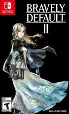 Bravely Default II Box Art