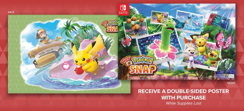 New Pokémon Snap - Double-Sided Poster