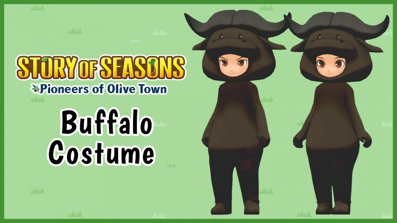 Story of Seasons: Pioneers of Olive Town - Buffalo Costume