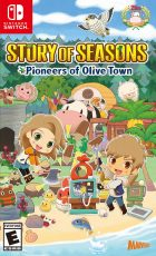 Story of Seasons: Pioneers of Olive Town Cover Art
