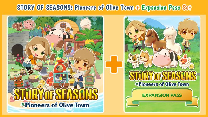 Story of Seasons: Pioneers of Olive Town - Expansion Pass Set