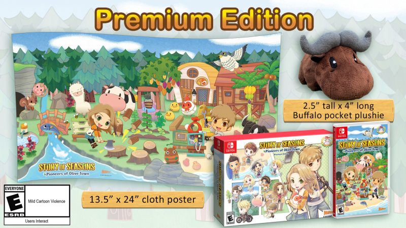 Story of Seasons: Pioneers of Olive Town - Premium Edition
