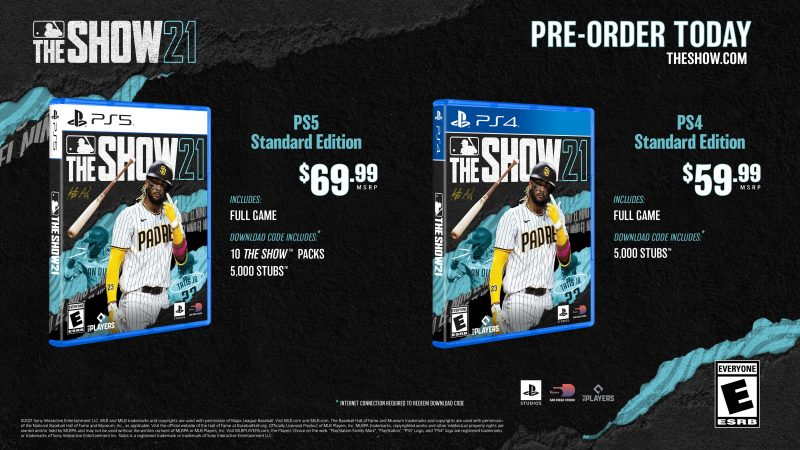 MLB The Show 21 - Standard Editions
